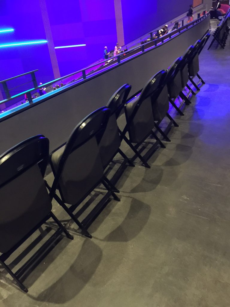 Wheelchair Accessible Seating.