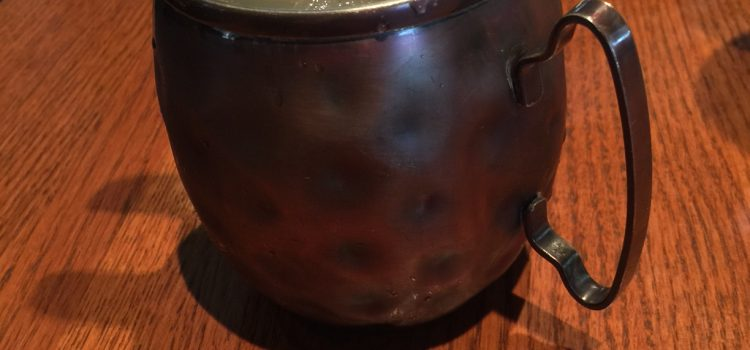 Moscow Mule Cocktail Drink