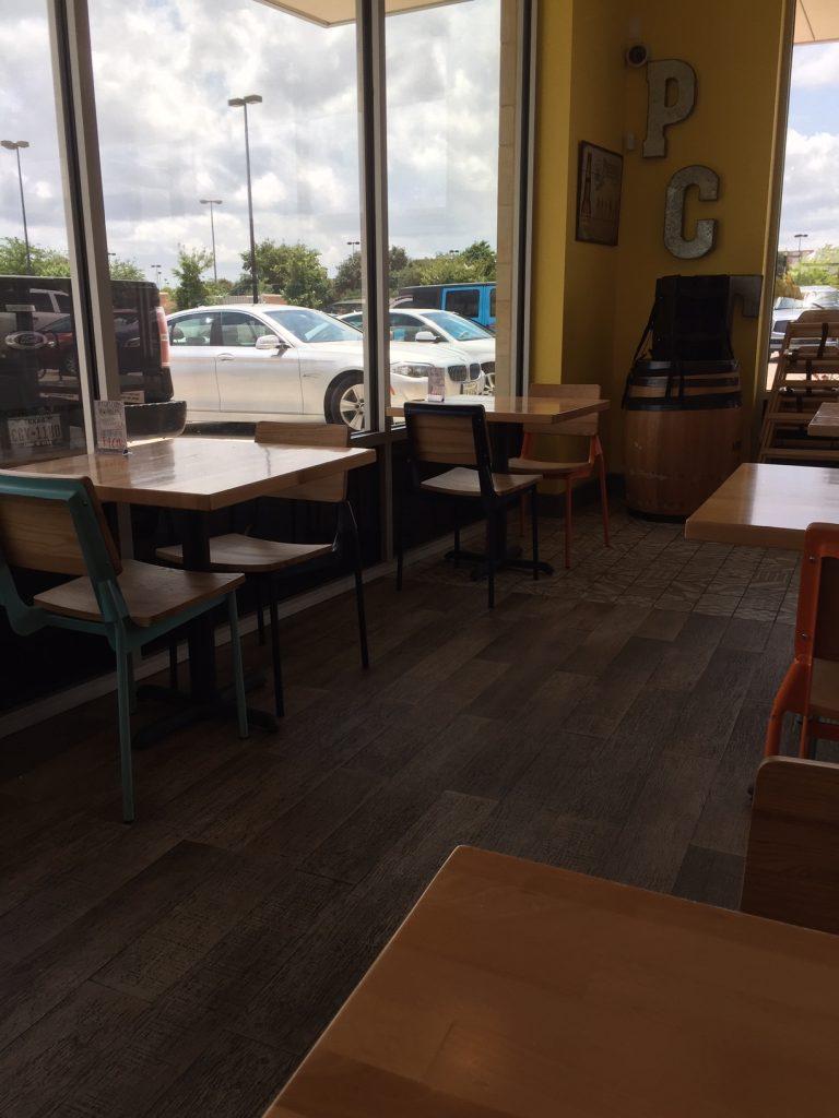 Pacific Coast Inside Dining Area.