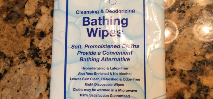 NoRinse Bathing Wipes Front