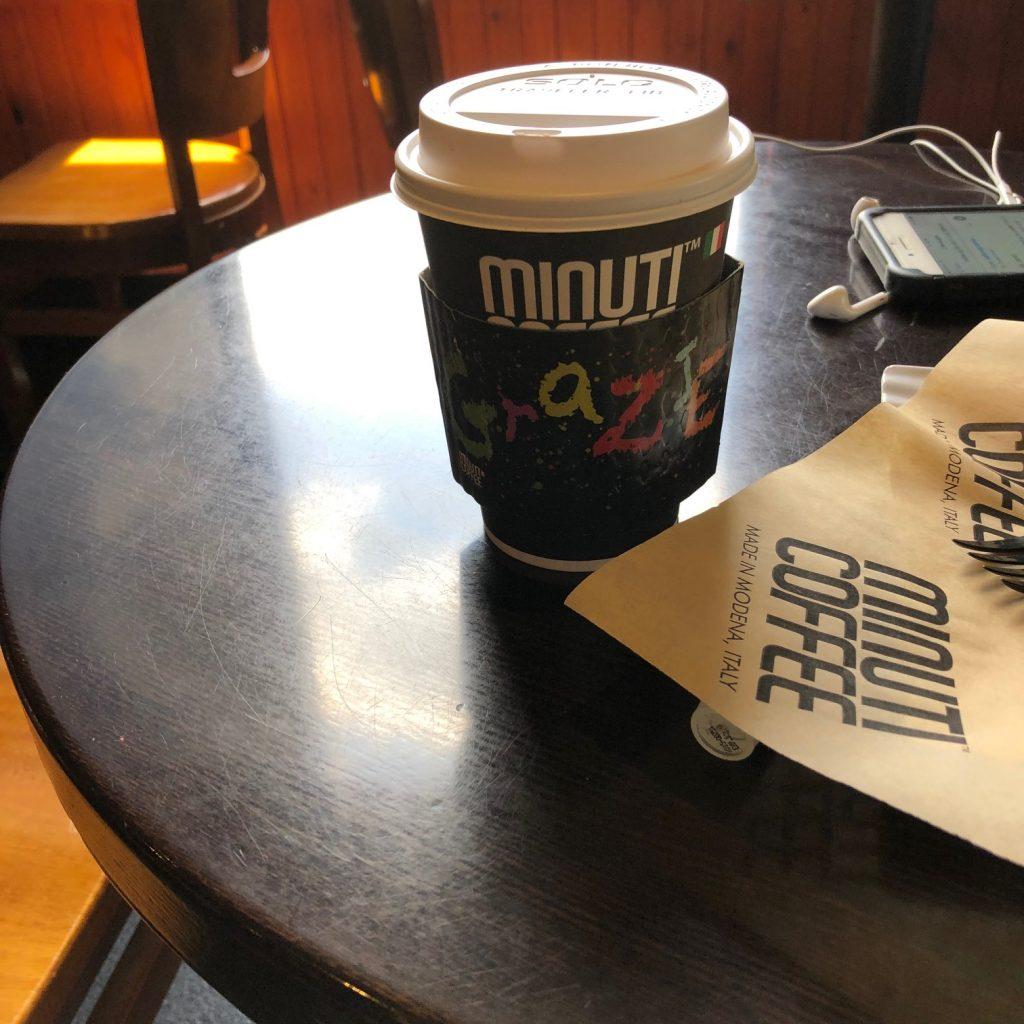 Cafe Latte at Minuti