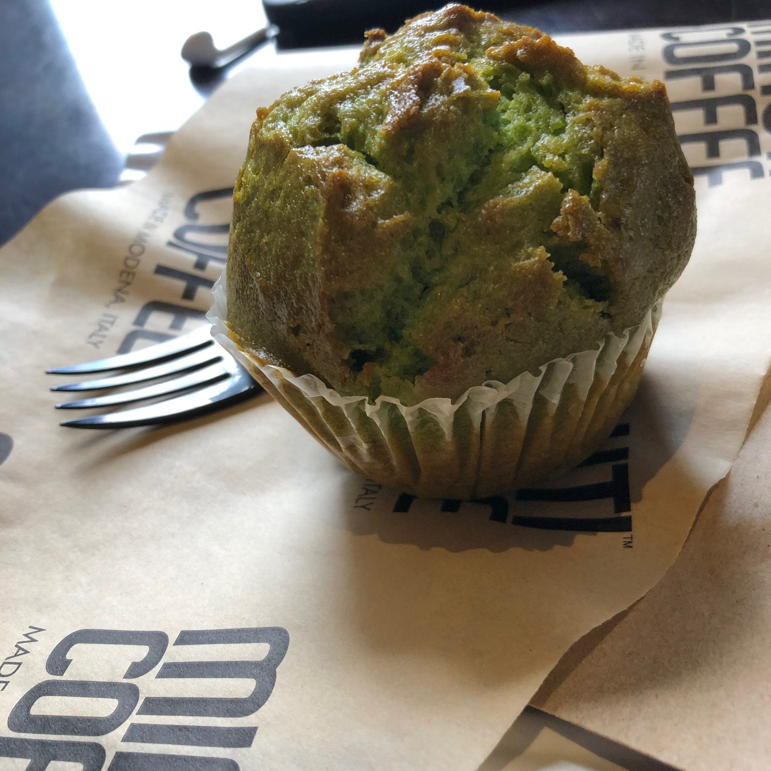 Pistachio Muffin at Minuti