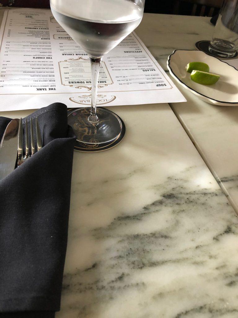 Loch Bar Table