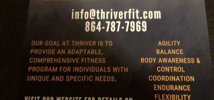 Personal Trainer at Thriver